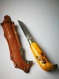 Коллекционный нож Puukko Финляндия 27см. N23., фото №6