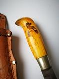 Коллекционный нож Puukko Финляндия 27см. N23., фото №7