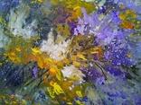 «А сирень цветет как в юности» холст/акрил 70х50 2020 фото 2