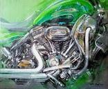 """""""Harley-Davidson"""" холст/акрил   60х50 2020"""