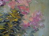 «Розовые флоксы» двп/акрил   68х60 2020 фото 5