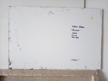 «Белые пионы» Ellen ORRO  двп/акрил   63х44 2020 фото 2