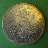 5 марок, 1902 год, Саксоня., фото №4