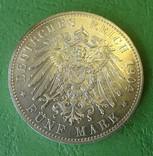 5 марок, Меклинбург-Шверин, 1904 год., фото №4