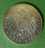 Бремен, 5 марок, 1906 год., фото №3