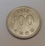 Південна Корея 100 вон, 2012