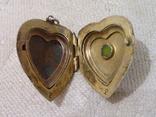 Кулон для фото Сердце (серебро 875), фото №5