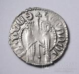Кілікійська Вірменія, цар Хетум І та цариця Забел, срібний трам 1226-1270рр., фото №7