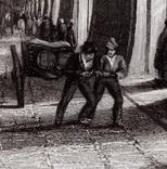 Старинная гравюра. XIX век. (25х17,8см.), фото №3