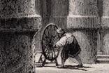 Старинная гравюра. XIX век. (27,2х20,3см.), фото №3
