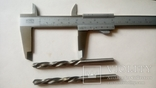 Два советских сверла левых Р18 редкая маркировка СССР диаметр 7 мм, фото №7