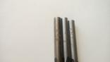 Сверло советское диаметр 7,7 мм Три штуки СССР, фото №7