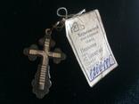 Крест Серебро 925 Новый с биркой Харьковский завод, фото №2