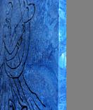 Картина, Танок вночі, 35х35 см. Живопис на полотні, фото №5