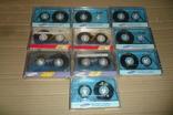Аудиокассета кассета Samsung - 10 шт в лоте, фото №2