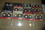 Аудиокассета кассета Samsung Skc Ecp Fuji Maxell Basf - 12 шт в лоте, фото №2