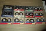 Аудиокассета кассета Samsung Skc Ecp Fuji Maxell Basf - 12 шт в лоте, фото №4
