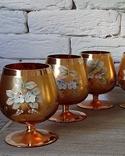 Фужеры цветное стекло, Bohemiа,70-е. 6 штук, фото №3