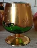 Фужеры цветное стекло, Bohemiа,70-е. 6 штук, фото №13