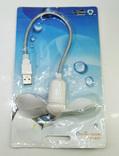 USB вентилятор новый. Dw mi fan usb+micro Mini Fan White, фото №3