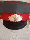 Фуражка милиция СССР, фото №2