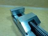 Тиски лекальные 60 мм. станок фрезерный шлифовальный инструмент, фото №6