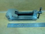Тиски лекальные 60 мм. станок фрезерный шлифовальный инструмент, фото №8