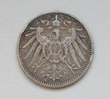 1 марка 1896 г. (А), Германия, серебро, фото №7