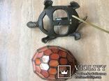 Фигурка- светильник Черепаха, стиль Тиффани., фото №8
