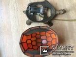 Фигурка- светильник Черепаха, стиль Тиффани., фото №9