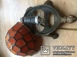 Фигурка- светильник Черепаха, стиль Тиффани., фото №12