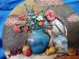 """Тарілка, картина """"Натюрморт"""", фото №2"""