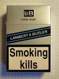 Сигареты LAMBERT & BUTLER
