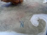 Композиция Мальчик забирает щенков клейма Германия, фото №11