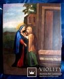 Старовинна ікона святих, фото №3