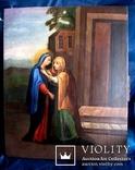 Старовинна ікона святих, фото №5