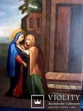 Старовинна ікона святих, фото №7