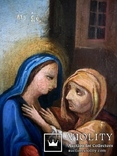 Старовинна ікона святих, фото №11