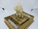 Кристалл на камне. Хайдарканские сувениры. СССР. Сувенирный цех ртутного завода, фото №5