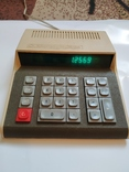 Счётная машинка - калькулятор Электроника С3 22 Полностью рабочая., фото №2