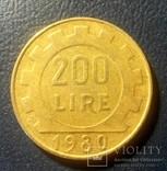 Италия 200 лир 1980, фото №2