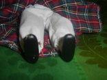 Кукла фарфоровая в национальном костюме Шотландка 21 см, фото №6