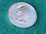 25 центов сша 2006 года. Серебро, фото №3