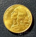 Франция 5 сантимов 1978, фото №3