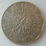 Десять злотых 1935 год, фото №4