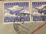 Марки Германии на почтовых открытках, фото №6