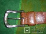 Ремень мужской кожанный Petrol, фото №5