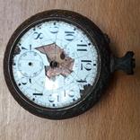 Карманные часы , корпус, на запчасти , под ремонт, фото №8