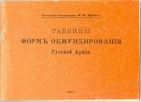 Щенк Таблицы форм обмундирования РИА, фото №2