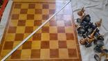 Шахматы турнирные большие 1метр, фото №3